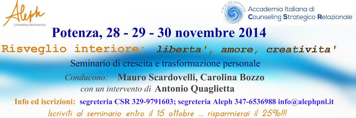 Mauro Scardovelli Seminario Potenza